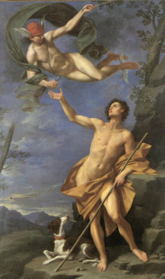 Mercury and Paris 1745