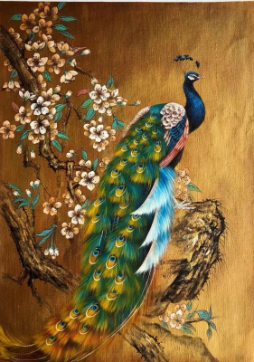 Peacock Paintings N01