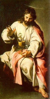 Saint John the Evangelist with the Poisoned Cup