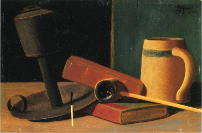 Still Life with Pipe and Mug