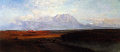 Study for Spanish Peaks Southern Colorado