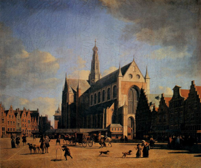 The Great Market in Haarlem
