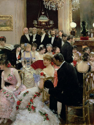 The Soiree 1880