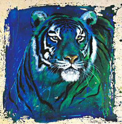 Tiger Paintings N031