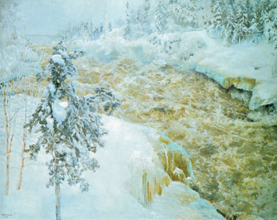 Winter Scene from Imatra
