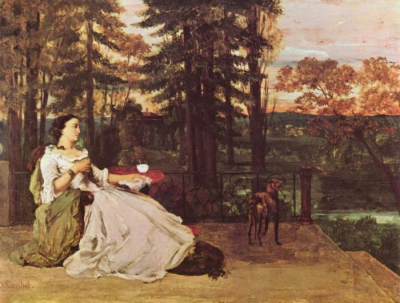 Woman On The Terrace
