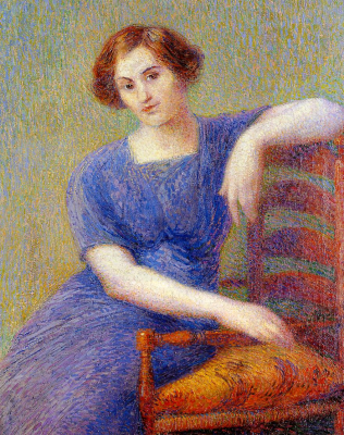 Young Woman in an Armchair
