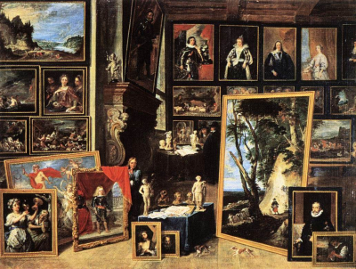 The Gallery of Archduke Leopold in Brussels III