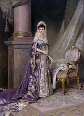 Portrait of Empress Maria Fyodorovna