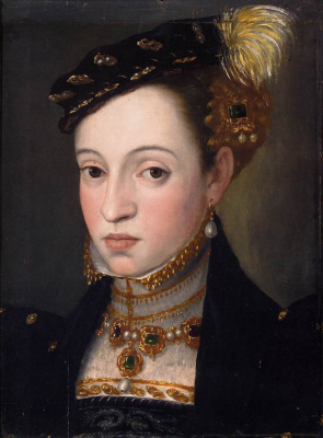Portrait of Magdalena of Austria