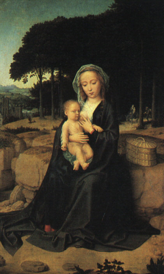 The Rest on the Flight into Egypt b