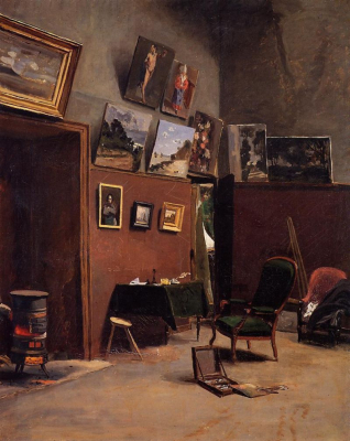 The Studio on the Rue de Furstenberg
