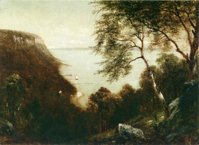 View of Palisades, Hudson River