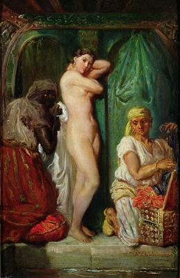 The Bath in the Harem 1849