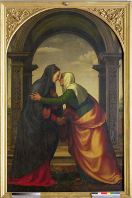 The Visitation of St. Elizabeth to the Virgin Mary 1503