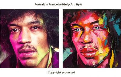 Order Portrait in Francoise Nielly Style
