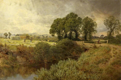 Landscape with Haymakers