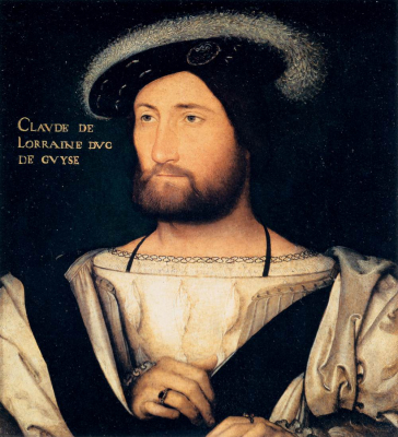 Portrait of Claude of Lorraine, Duke of Guise