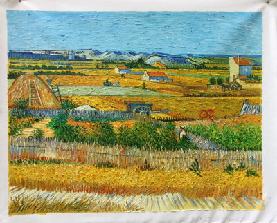 HQ Van Gogh Harvest at la Crau 73 x 92 cm