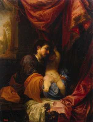 St Joseph and the Infant Christ