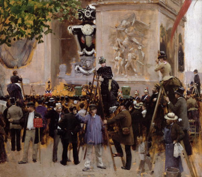 The Funeral of Victor Hugo