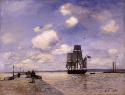 The Jetty of Honfleur
