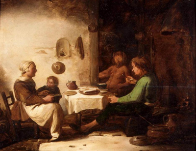 The Satyr and the Peasant Family