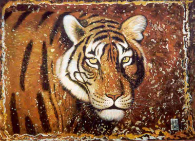 Tiger Paintings N019