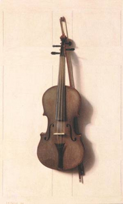 Violin and Bow 1889
