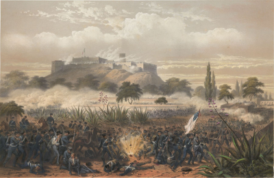 Storming of Chapultepec - Quitman's Attack