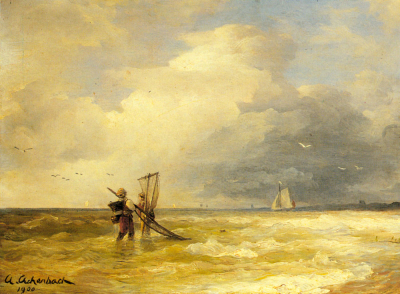 Fishing Along The Shore