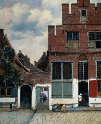 View of Houses in Delft known as The Little Street