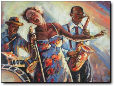 Jazz Paintings N035