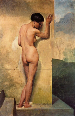 Nude Standing Woman