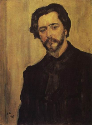 Portrait of the Writer Leonid Andreyev
