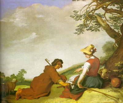 Shepherd and Sherpherdess