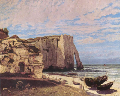 The Etretat Cliffs after the Storm