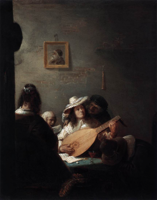 The Lute Concert