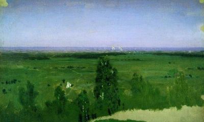 View on Moscow from Sparrow Hills 1882