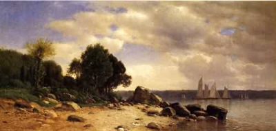 View on the Hudson 1865 1869