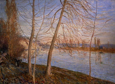 Winter Morning - Veneux