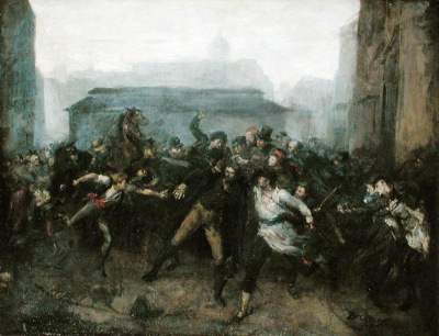 The Spy Episode of the Siege of Paris 1871
