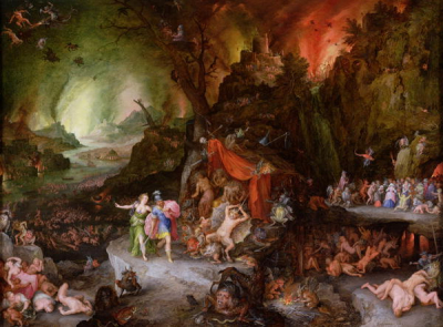 Aeneas and the Sibyl in the Underworld 1598