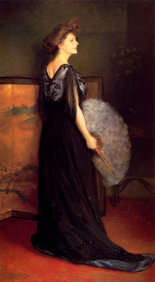 Portrait Of Mrs. Francis Stanton Blake