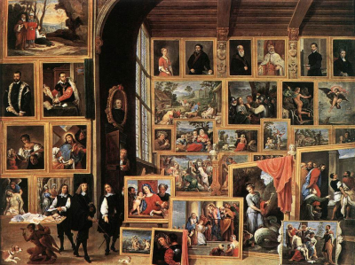 The Gallery of Archduke Leopold in Brussels II