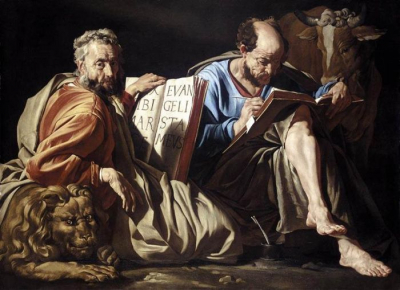 The Evangelists Saint Mark And Saint Luke