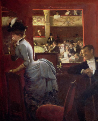The Box by the Stalls 1883