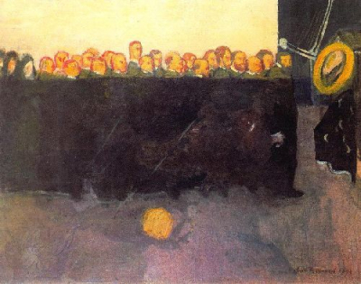 The funeral of Vincent van Gogh