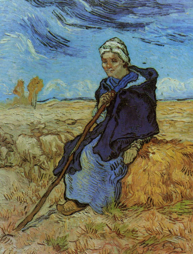 The Shepherdess After Millet