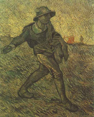 The Sower After Millet